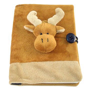 novelty soft plush animal book covers from China (mainland)