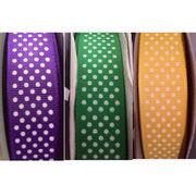 Swiss polka dots printed ribbon from China (mainland)
