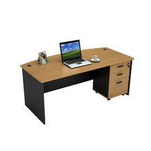China Bow front office desk, quick ship products with factory price