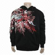 100% cotton men's zip sweatshirt from China (mainland)