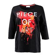 Women's 100% cotton T-shirt from China (mainland)