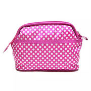 Wholesale Polyester Dots Toiletry Bag, Polyester Dots Toiletry Bag Wholesalers