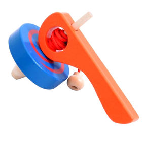 Wooden small gyro toys for kids Manufacturer
