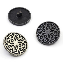 China Antique silver logo alongside buttons