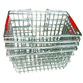 Metal wire shopping basket from China (mainland)
