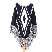 Wholesale rhombus design acrylic shawls from China (mainland)