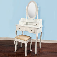 High quality wooden dressing table, designs for bedroom, unit size: 80*135*40cm