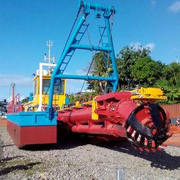 10-inch cutter suction dredger from China (mainland)