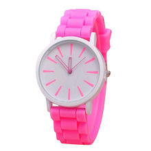 2017 silicone analog watches