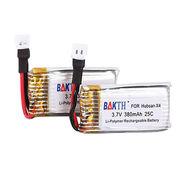 BAKTH 5 Packs 3.7V 380mAh RC Battery for Hubsan X4 from Shenzhen BAK Technology Co. Ltd