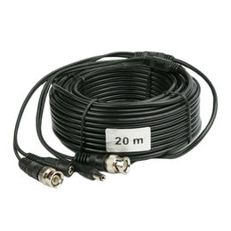 Pre-Made CCTV Cable(BNC+DC) 20Meters from China (mainland)