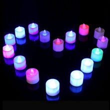 China 2017 new design and hot sale candle LED lights