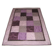 Hand Made King Size Patchwork Quilt from India