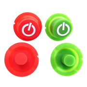 Silicone push button, custom size and design, conductive carbon pill, eco-friendly, waterproof