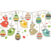 Easter Day Wall Stickers