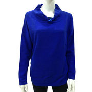 100% Cashmere Women Pullover Sweater from Inner Mongolia Shandan Cashmere Products Co.Ltd