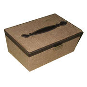 Leather automatic gift jewelry box Manufacturer
