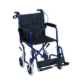 China Lightweight Aluminum Transport Chair