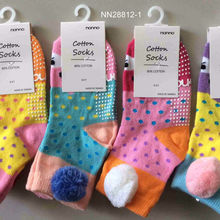 Soft cotton baby anti-slip socks from Taiwan