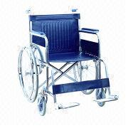Heavy-duty Steel Wheelchair from China (mainland)