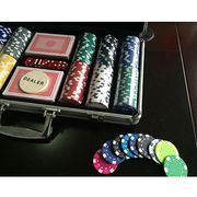 11.5g/300-piece Poker Pattern Poker Chip Set Manufacturer