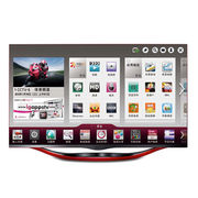 3D LED TV, 55 Inches with Screen Resolution of 1,920 x 1,080 Pixels, Quad-core Processor