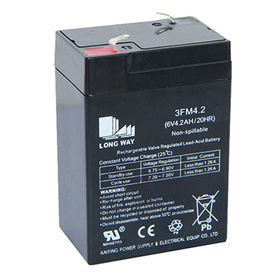 6V/4.2Ah Electric Scooter Rechargeable Battery from China (mainland)