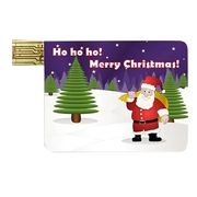 Christmas gift card-shaped USB flash drives Manufacturer