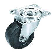 Rubber caster wheels/many diameter rubber industri Manufacturer
