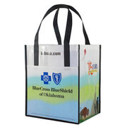 100% recyclable and non-toxic promotional laminated non woven tote bag