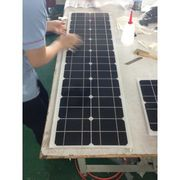 China Slender glass solar panel
