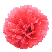 Wedding Party Colorful Paper Decorative Flowers Manufacturer