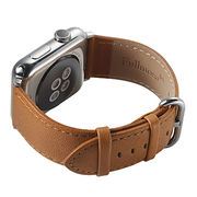 38mm/42mm Genuine Calf Leather Watch Band from China (mainland)