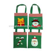 Hot-selling Christmas Fabric Gift bag from China (mainland)