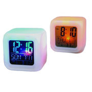 Desk Clocks, Made of Plastic, Customized Dials are Accepted from Jinjiang Jiaxing Import & Export Company