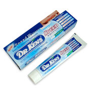 100g Speed Whitening Cool Mint Toothpaste from DR.KENS, Fluoride Protection, Available in White from Yiwu Airsun Commodity Co. Ltd