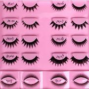 2015 new premium handmade false hair eyelashes extensions