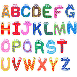 China Learning Toys English Magnetic Letters