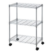 NSF 3-tier lip-up wire shelving rack from China (mainland)