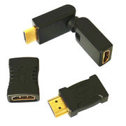 HDMI 19-pin Male to Female Adapter