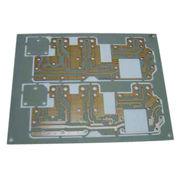 Hong Kong SAR 0.8mm Telfor PCB in Entek Finish, Used for Microwave