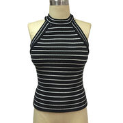 Women's sleeveless tank top from China (mainland)