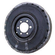 Forklift solid tire & rim from China (mainland)