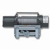 12V Electric Winch with 8,000lbs Capacity and Ratio of 294:1