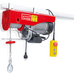 Mini Electric Hoist with Urgent Stop Switch, Available in Compact Structure