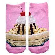 Sublimated cake baby socks from China (mainland)