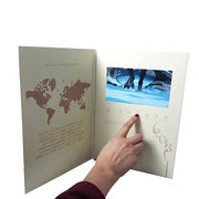 Christmas 5-inch LCD video holiday greeting cards from China (mainland)