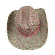 Straw Cowboy Hat from China (mainland)