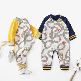 New summer 100% cotton baby clothing set from China (mainland)