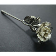 24K silver plated rose from China (mainland)